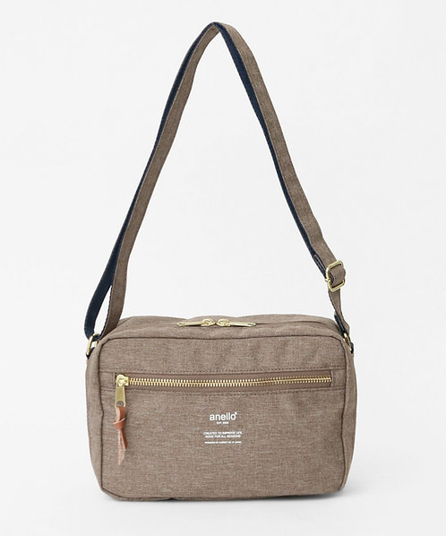 Anello - 輕巧休閒雙用式手挽側揹袋 AT-C3164BE 米色