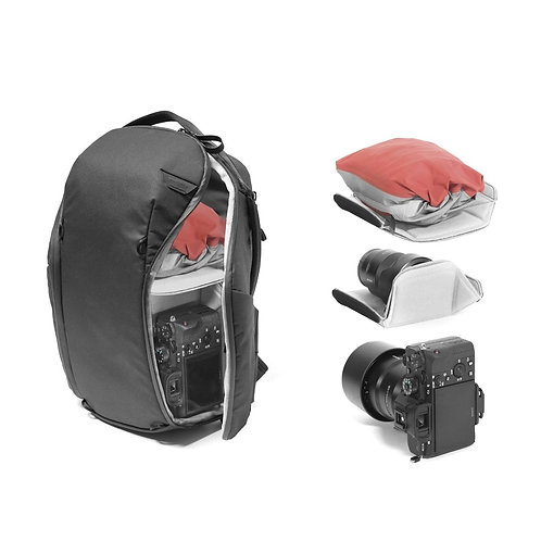 PEAK DESIGN - Everyday Camera Backpack 15L ZIP V2 (Black)