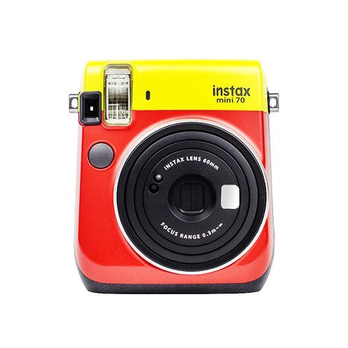Fujifilm instax mini 70 Instant Camera Yellow/Red