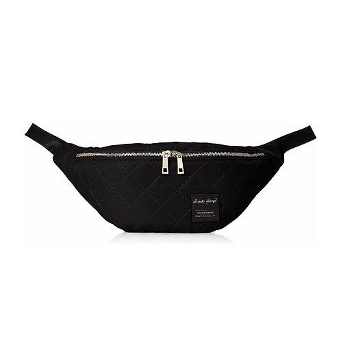 Anello -LS-G0775 -簡單輕便腰包-黑色