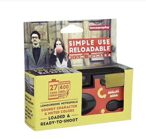 Lomography LomoChrome Metropolis 27exp Disposable SIMPLE USE Film Camera