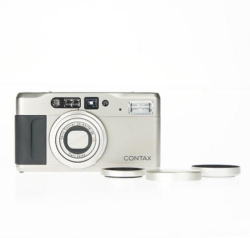 Contax TVS II Data Back 35mm Film Camera