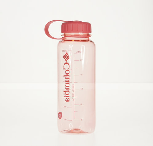 Logo純色標誌性簡約水樽 650ml- 粉紅色