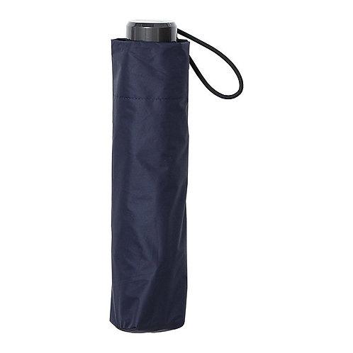 estaa - 日本直送 - 晴雨兼用 防UV 遮光 遮熱 折傘 短傘 日傘 - 深藍/耐風骨折