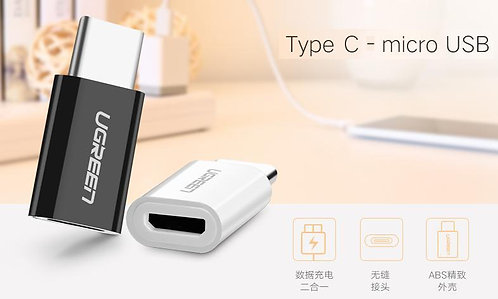 UGREEN USB 3.1 Type-C Male to Micro USB 2.0 Female Converter USB-C Adapter