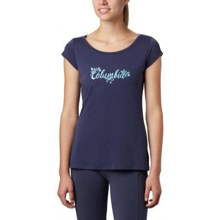 WOMEN'S SHADY GROVE OMNI-WICK SS TEE T-Shirt - NOCTURNAL FUN