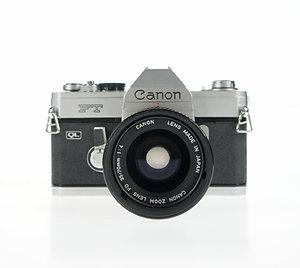 Canon FT 35mm SLR Film Camera + 35-70mm Lens