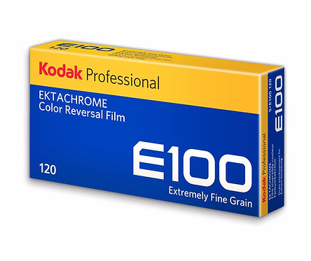 Kodak Ektachrome E100 Color 120 Reversal Film (5 Rolls/pack)