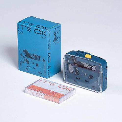 NINMLab IT'S OK Bluetooth 5.0 Cassette Tape Player & Recorder (Evening)