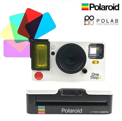 Polaroid Originals - OneStep 2 Instant Camera - Color Gel Flash Filter Set