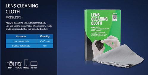 Dedusting Ultra Microfiber Lens Cleaning Cloth