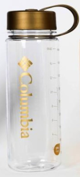 Logo純色標誌性簡約水樽 450ML - Gold