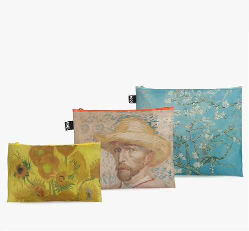 MUSEUM Collection Zip Pockets (3pcs Set) - Van Gogh