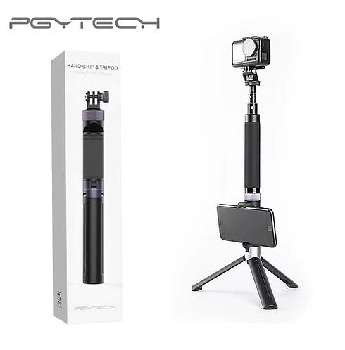PGYTECH Hand Grip & Tripod & Extension Pole for DJI for Action Camera P-GM-104