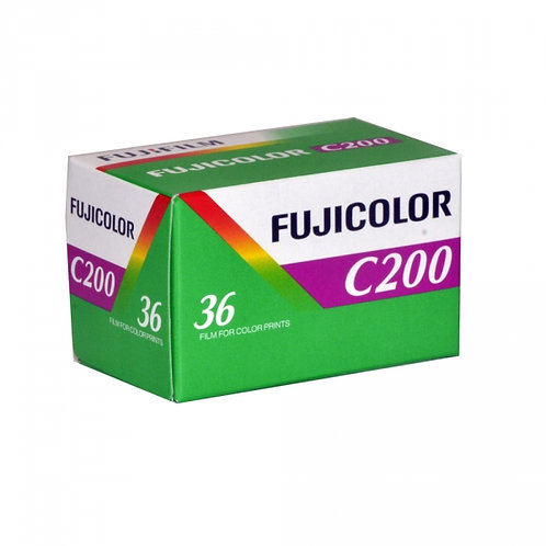 Fujifilm FujiColor C200 35mm 36exp Color Film