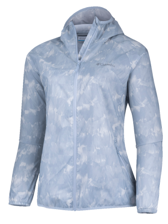 Women's Pacific Drift™ Wind Jacket - CIRRUS GREY QUARTZ PRINT