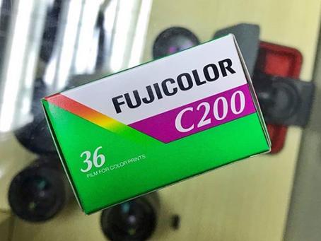 <<Fujifilm - FujiColor C200 ISO 200 35mm 36exp>>