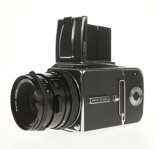 Hasselblad 500C/M CM (Zeiss Planar C 80mm F/2.8 Lens)