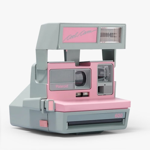 Polaroid 600 Cool Cam Instant Camera PINK (Official Refurbished)