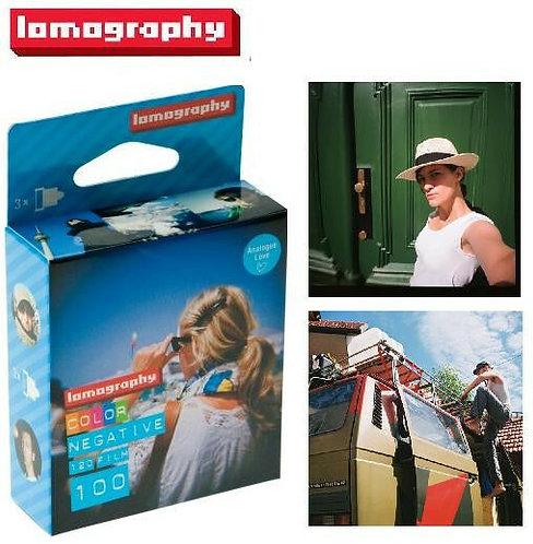 Lomography 100 ISO 120 Color Negative Film