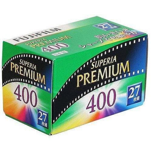 Fujifilm  SUPERIA PREMIUM 400 ISO 35mm Color Film (27exp)