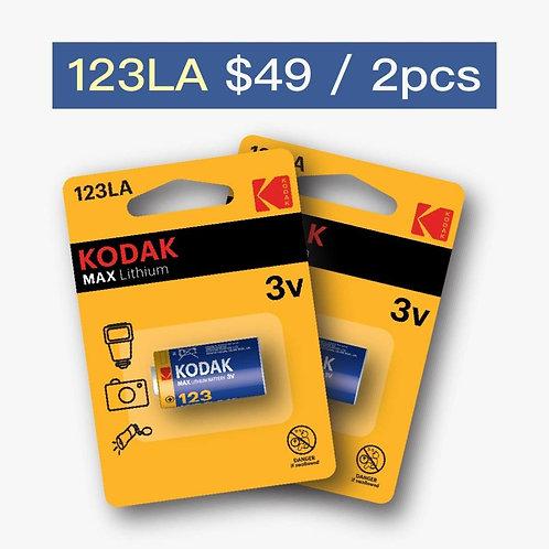 Kodak Lithium Battery K123LA (2 pcs)