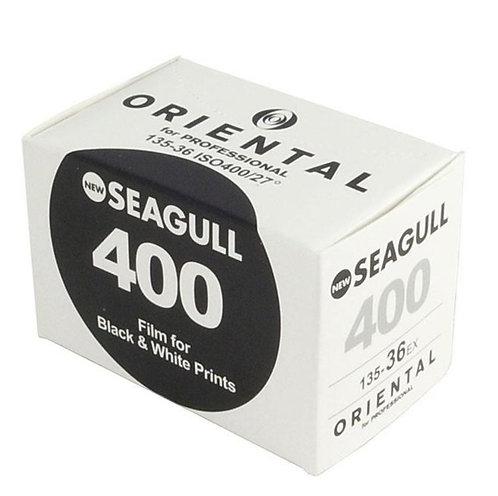 Oriental Seagull 400 ISO B&W 35mm Negative Film(36exp)