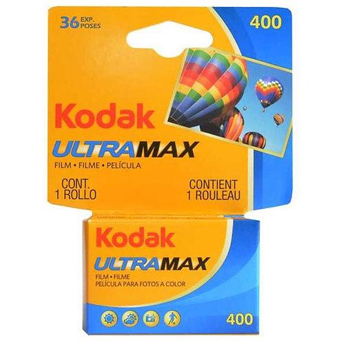 KODAK Ultramax 400 ISO 36 EXP 35mm Color Film