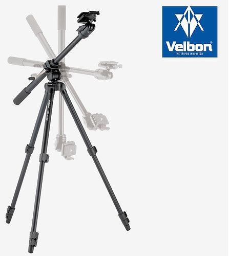 Velbon VS-443D Aluminum Tripod with QHD-53D Ball Head Geared Tilt Colum