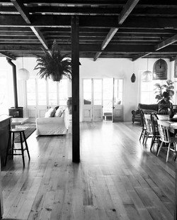Main living room at Pacifique