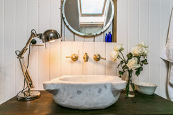 Old turkish marble sink - Pacifique