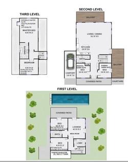 Floorplan @Pacifique Byron