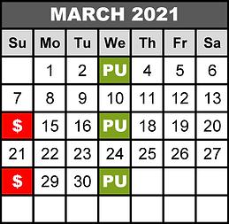 2021 MAR - WED Pick-Up SUN Deadline - Ob