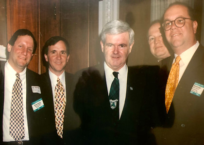 Lobbying Newt Gingrich