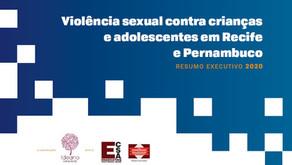 Relatório traça panorama da violência sexual contra crianças e adolescentes em Recife e Pernambuco