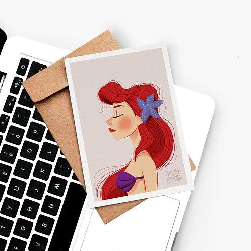 Carte postale Ariel