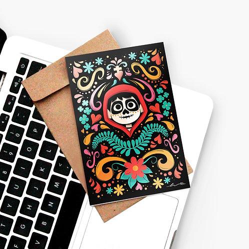 Carte Postale Coco   Vernis Sélectif