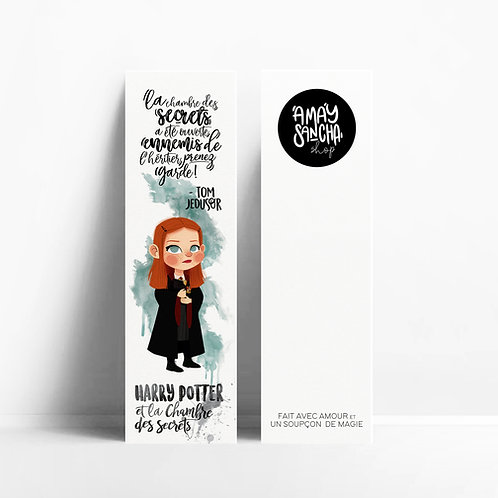 Marque-pages Ginny Weasley