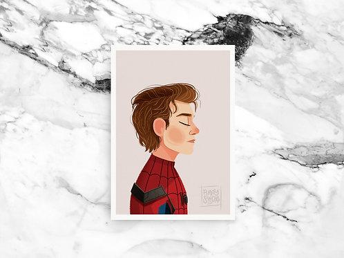 Illustration A4 Spider-Man