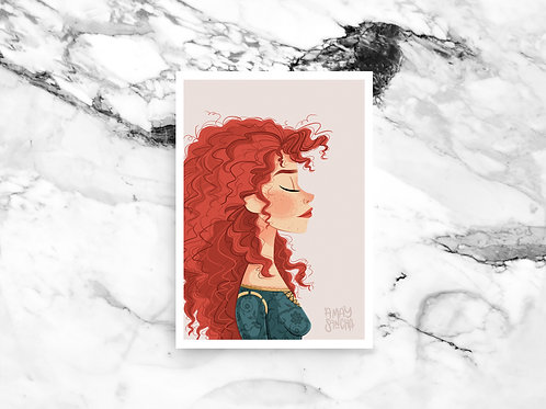 Illustration A4 Merida