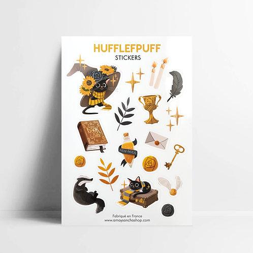 Planche de stickers Poufsouffle