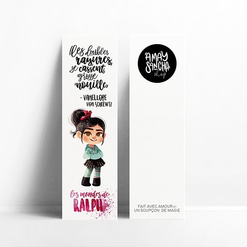 Marque-pages Vanellope