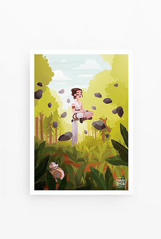 Illustration A4 Rey's meditation