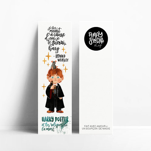 Marque-pages Ron Weasley