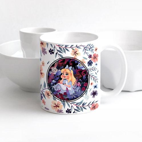 Mug Alice Fleuri