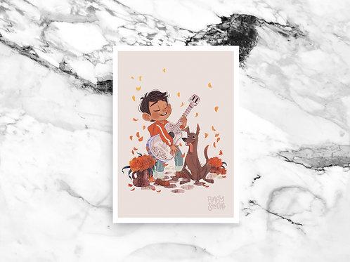 Illustration A4 Miguel et Dante