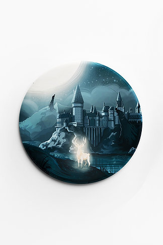 Badge Mat Welcome to Hogwarts