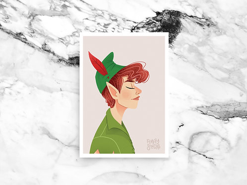 Illustration A4 Peter Pan