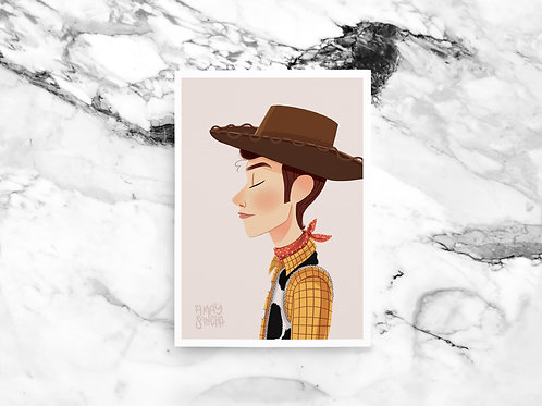 Illustration A4 Woody