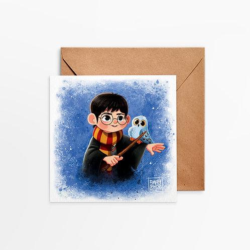 Carte Carrée Harry